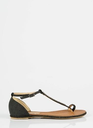 Asymmetry Pi Sandalet Siyah